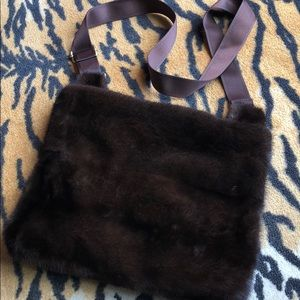 Mink Messenger Bag